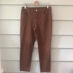 Chicos So Slimming Girlfriend Jeans Brown M/8 1